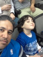 ALEJANDRO attended Dallas Mavericks vs. New Orleans Pelicans - NBA on Jan 11th 2014 via VetTix