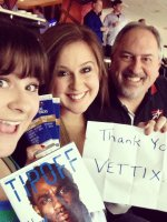 James attended Dallas Mavericks vs. New Orleans Pelicans - NBA on Jan 11th 2014 via VetTix