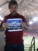 Timothy attended 2013 Chick-fil-A Bowl - #24 Duke Blue Devils vs #21 Texas A&M Aggies on Dec 31st 2013 via VetTix