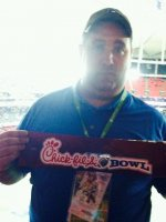 Kevin attended 2013 Chick-fil-A Bowl - #24 Duke Blue Devils vs #21 Texas A&M Aggies on Dec 31st 2013 via VetTix