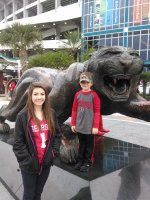 Jeffrey attended 2014 Gator Bowl - Nebraska Cornhuskers vs #22 Georgia Bulldogs on Jan 1st 2014 via VetTix