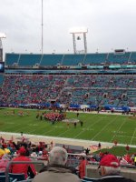 Jason Barker attended 2014 Gator Bowl - Nebraska Cornhuskers vs #22 Georgia Bulldogs on Jan 1st 2014 via VetTix