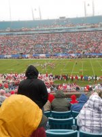 Wes S. attended 2014 Gator Bowl - Nebraska Cornhuskers vs #22 Georgia Bulldogs on Jan 1st 2014 via VetTix