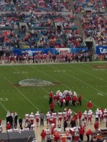 David attended 2014 Gator Bowl - Nebraska Cornhuskers vs #22 Georgia Bulldogs on Jan 1st 2014 via VetTix