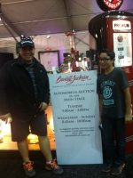 AJ attended 2014 Barrett-Jackson - Collector Car Auction - 1 Ticket is Good for 2 people on Jan 12th 2014 via VetTix