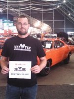 Bryan attended 2014 Barrett-Jackson - Collector Car Auction - 1 Ticket is Good for 2 people on Jan 12th 2014 via VetTix