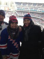 Joseph and family attended 2014 Coors Light NHL Stadium Series - New Jersey Devils vs. New York Rangers on Jan 26th 2014 via VetTix