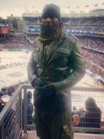 SFC Solomon Melchizedek ( Retired ) attended 2014 Coors Light NHL Stadium Series - New Jersey Devils vs. New York Rangers on Jan 26th 2014 via VetTix