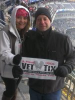 Joe G attended 2014 Coors Light NHL Stadium Series - New Jersey Devils vs. New York Rangers on Jan 26th 2014 via VetTix