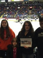Donald attended Reading Royals vs. Elmira Jackals - ECHL on Dec 19th 2015 via VetTix