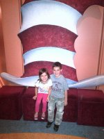 Mike attended DR. SEUSS� CAT IN THE HAT...presented by the Children's Theatre Company on Nov 14th 2012 via VetTix