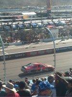 Edie attended 2012 AdvoCare 500...NASCAR Sprint Cup Race on Nov 11th 2012 via VetTix