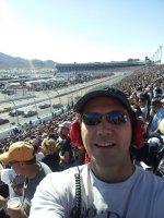 Chris attended 2012 AdvoCare 500...NASCAR Sprint Cup Race on Nov 11th 2012 via VetTix