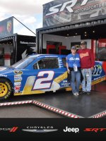 Rick attended 2012 AdvoCare 500...NASCAR Sprint Cup Race on Nov 11th 2012 via VetTix