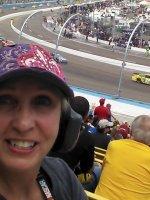 Zane attended 2012 AdvoCare 500...NASCAR Sprint Cup Race on Nov 11th 2012 via VetTix