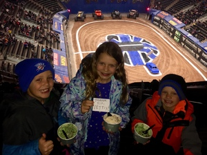 Megan attended Monster Jam Triple Threat Series - Motorsports/racing on Jan 4th 2019 via VetTix