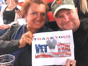 Mike & Dede attended Bon Jovi - This House is not for Sale - Tour on Apr 24th 2018 via VetTix