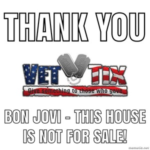 SFC Stewart W. Smith attended Bon Jovi - This House is not for Sale - Tour on Apr 24th 2018 via VetTix