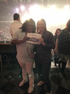 Elizabeth attended Bon Jovi - This House is not for Sale - Tour on Apr 24th 2018 via VetTix