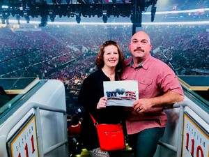 Brooks attended Bon Jovi - This House is not for Sale - Tour on Apr 24th 2018 via VetTix
