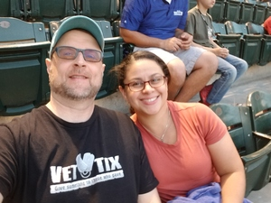 William attended Arizona Diamondbacks vs. San Francisco Giants on Apr 17th 2018 via VetTix