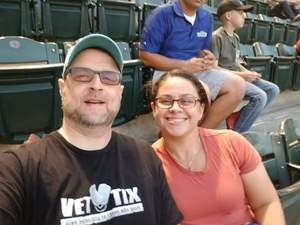 Cynthia attended Arizona Diamondbacks vs. San Francisco Giants on Apr 17th 2018 via VetTix