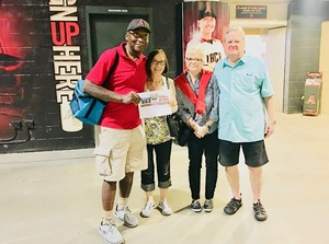 James McCullough attended Arizona Diamondbacks vs. San Francisco Giants on Apr 17th 2018 via VetTix