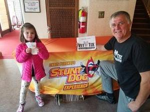 Stephen attended The Stunt Dog Experience - Early Show on May 13th 2018 via VetTix