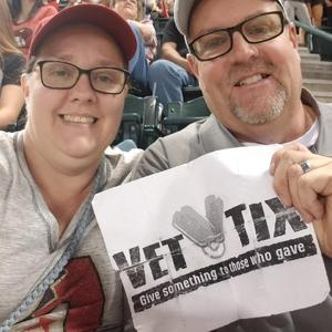 Mick attended Arizona Diamondbacks vs. San Diego Padres - MLB on Apr 21st 2018 via VetTix