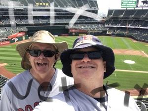 Jonathan attended Oakland Athletics vs. Boston Red Sox - MLB on Apr 22nd 2018 via VetTix