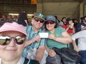 Ryan attended Oakland Athletics vs. Boston Red Sox - MLB on Apr 22nd 2018 via VetTix