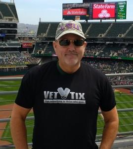 Byron attended Oakland Athletics vs. Boston Red Sox - MLB on Apr 22nd 2018 via VetTix