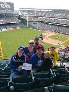 Joell attended Texas Rangers vs. Seattle Mariners - MLB on Apr 22nd 2018 via VetTix