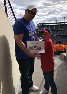 Joshua attended Texas Rangers vs. Seattle Mariners - MLB on Apr 22nd 2018 via VetTix