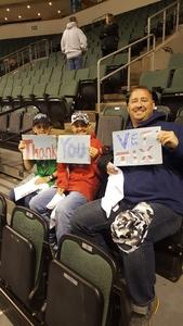Tommy attended Texas Stars vs. Ontario Reign - First Round Playoffs - AHL on Apr 19th 2018 via VetTix