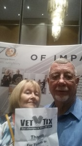 Ronald attended Sgt. Pepper's 50th Anniversary With Classical Mystery Tour on Apr 20th 2018 via VetTix