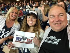 Michael attended New York Yankees vs. Boston Red Sox - MLB on May 9th 2018 via VetTix
