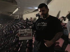 Hugo attended Alan Jackson's Honky Tonk Highway Tour on Apr 28th 2018 via VetTix