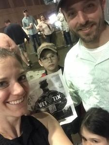 Kate attended Alan Jackson's Honky Tonk Highway Tour on Apr 28th 2018 via VetTix