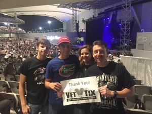 Jason Click attended Skillet + for King and Country - Joy Unleashed Tour 2018 on May 4th 2018 via VetTix