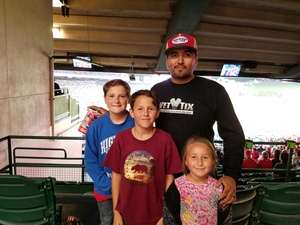 Martins attended Los Angeles Angels vs. Minnesota Twins - MLB on May 10th 2018 via VetTix