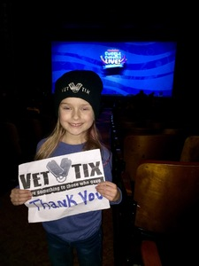 Jamie attended Bubble Guppies Live - Evening Show on Apr 28th 2018 via VetTix