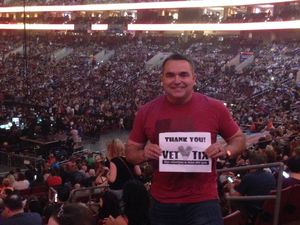 Earl attended Wmmr 50th Birthday Concert: Bon Jovi This House is not for Sale Tour on May 3rd 2018 via VetTix