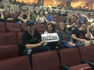 Joseph attended Wmmr 50th Birthday Concert: Bon Jovi This House is not for Sale Tour on May 3rd 2018 via VetTix