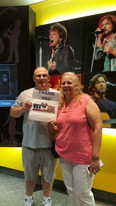 Rob S. attended Wmmr 50th Birthday Concert: Bon Jovi This House is not for Sale Tour on May 3rd 2018 via VetTix