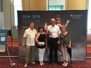 John attended Ballet Arizona Presents All Balanchine 2018 - Saturday Matinee Show on May 5th 2018 via VetTix