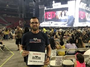 Bryan attended Taylor Swift Reputation Stadium Tour on May 8th 2018 via VetTix