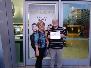 John attended Maks, Val and Peta Live on Tour: Confidential on May 4th 2018 via VetTix
