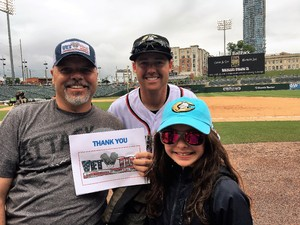 Eddie attended Charlotte Knights vs. Indianapolis Indians - MiLB on May 28th 2018 via VetTix