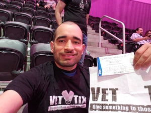 Edwin attended U2 Experience + Innocence Tour on May 12th 2018 via VetTix